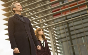 WARNING: Embargoed for publication until: 16/09/2014 - Programme Name: Doctor Who - TX: 20/09/2014 - Episode: n/a (No. 5) - Picture Shows: L - R The Doctor (PETER CAPALDI), Clara (JENNA COLEMAN) - (C) BBC - Photographer: Adrian Rogers