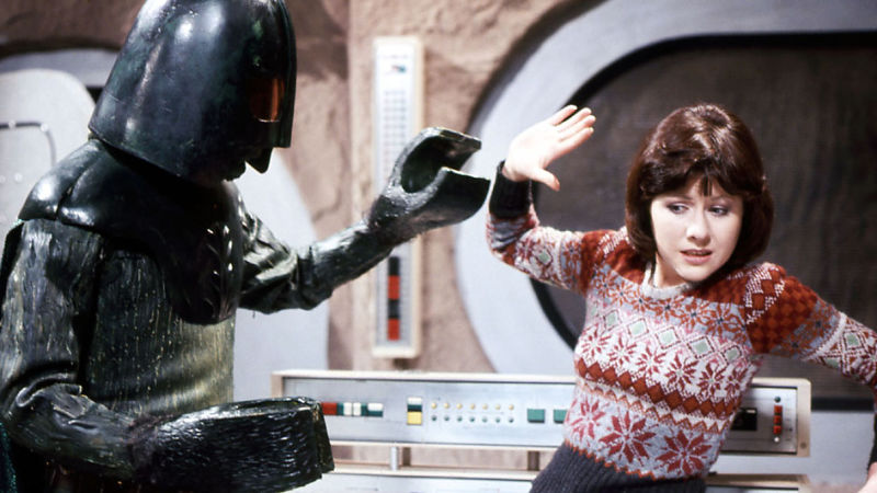 Image result for sarah jane smith the monster of peladon