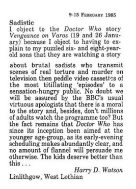 Radio times letter
